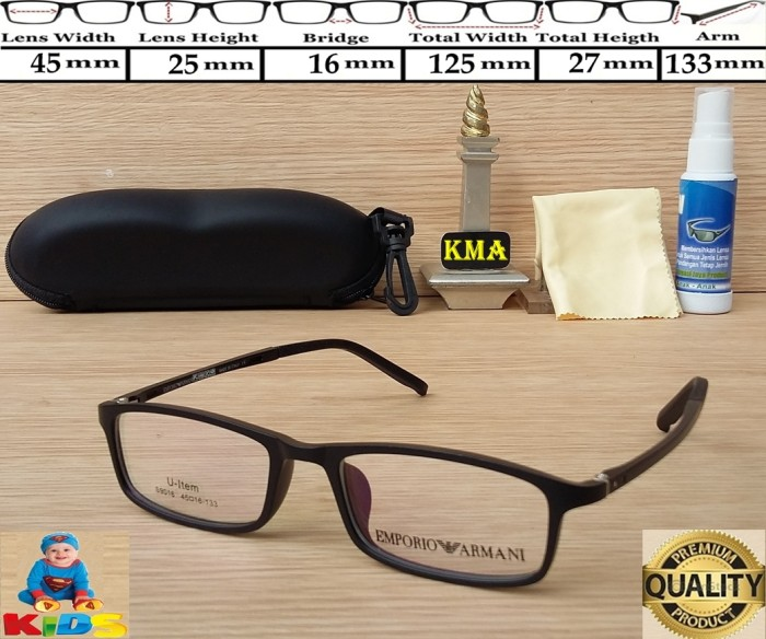 harga Frame anak anak / kacamata anak anak / frame kids / emporio armani new Tokopedia.com