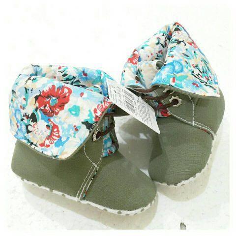 Jual Sepatu Bayi   MOTHERCARE Green Pocahontas Prewalker - Fay s ... d81fe3674e