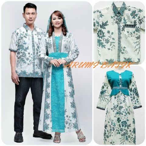 harga Sarimbit pasangan keluarga gamis maxi long dress batik 1598 tosca xxl Tokopedia.com