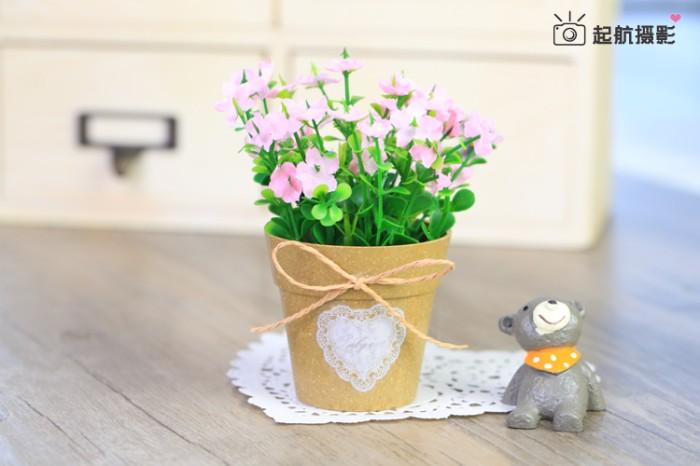 Jual Pot Bunga B Tanaman Plastik Pajangan Vas Bunga Shabby Chic ... 922dd660f0