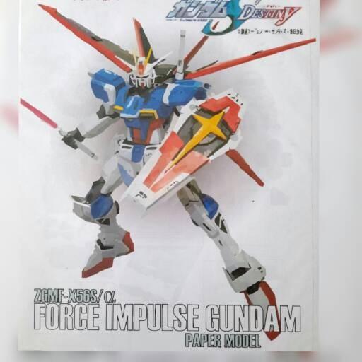 harga Force impulse gundam - papercraft Tokopedia.com
