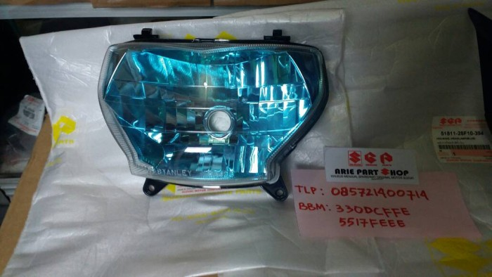harga Lampu depan / reflektor suzuki rk cool Tokopedia.com