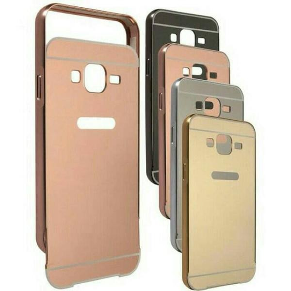 Samsung Galaxy V G313 Ace 4 Bumper Case Mirror Hardcase Back Case