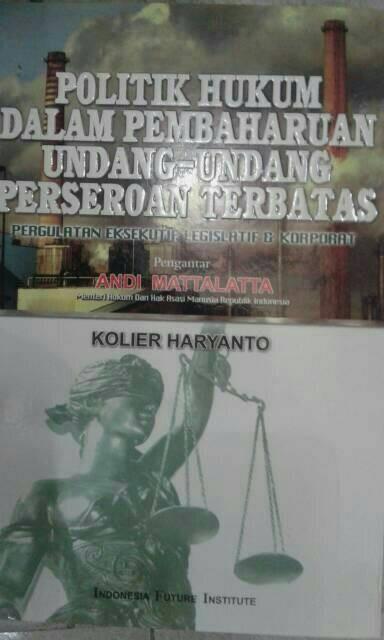 harga Politik hukum dalam pembaharuan undang-undang perseroan terbatas Tokopedia.com