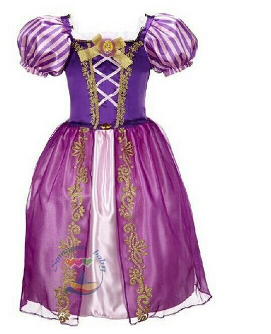 harga Baju anak dress anak rapunzell kostum anak wanita baju princess Tokopedia.com