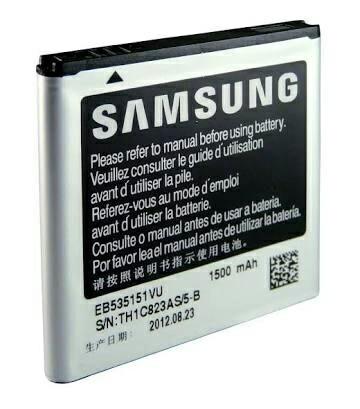 harga Batre baterai  samsung eb535151vu original /galaxy s advance i9070 Tokopedia.com