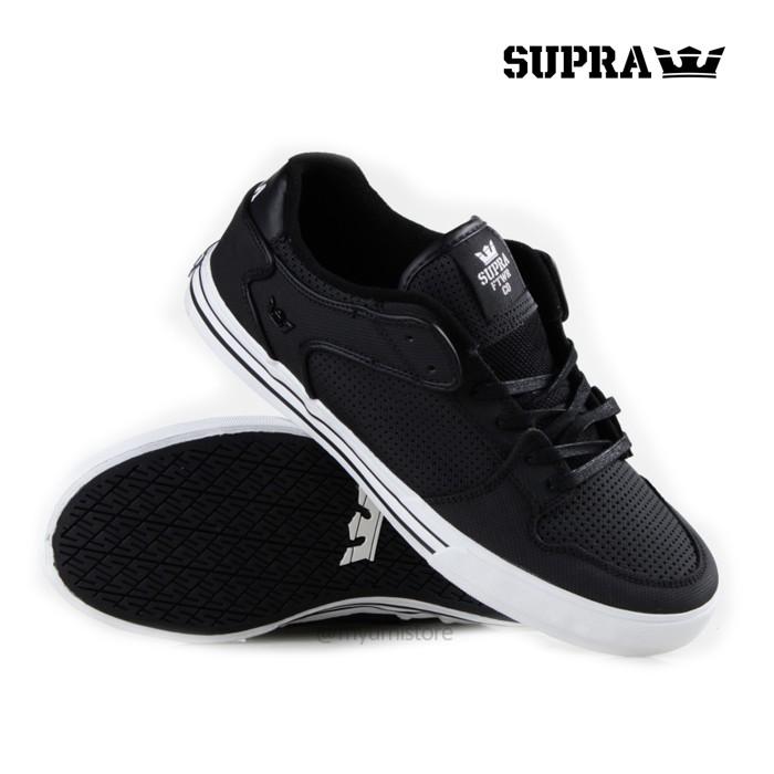 Jual Sepatu Supra Vaider Low - Black White (ori) - Myumi Store ... 8f805e8366