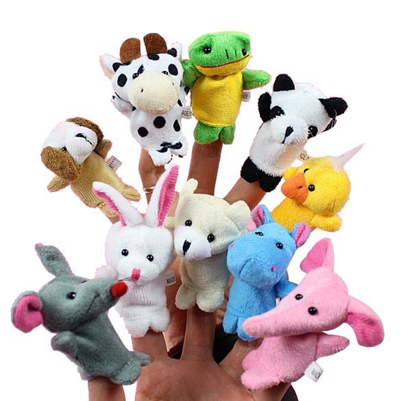 harga 1 set (10 pcs) boneka jari seri animal / binatang Tokopedia.com