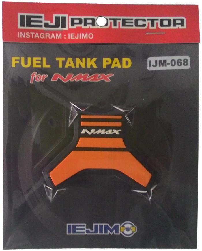 harga Yamaha nmax tankpad / cover tutup bensin oranye / aksesoris motor nmax Tokopedia.com