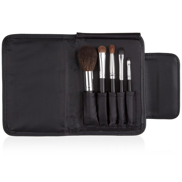 coastal scents brushes. coastal scents go travel brush set brushes (