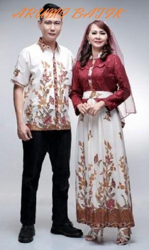 harga Sarimbit pasangan keluarga gamis maxi long dress batik 1603 maroon Tokopedia.com