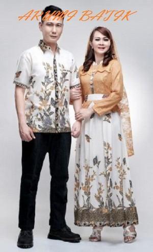 harga Sarimbit pasangan keluarga gamis maxi long dress batik 1603 coklat Tokopedia.com