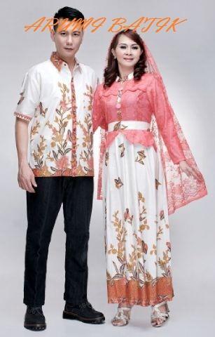 harga Sarimbit pasangan keluarga gamis maxi long dress batik 1603 pink Tokopedia.com