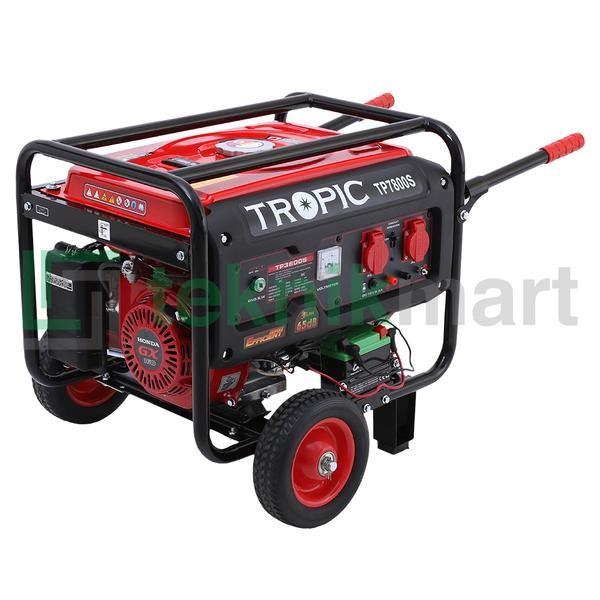 harga Genset / generator set bensin honda tropic 7800 s (5500 watt) Tokopedia.com
