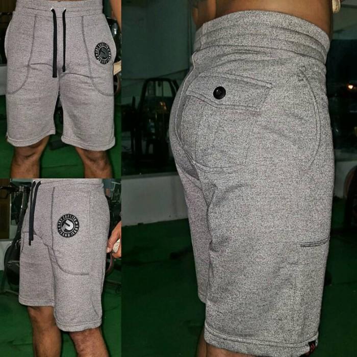 Foto Produk Celana Pendek Premium - Short import pigano Grey dari Galangfox store