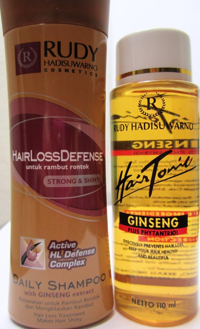 Rudy Hadisuwarno Hair Tonik Ginseng Plus Phytantriol 110 Ml Update Hairlossdefense 225ml Tonic 110ml Shampo Gs 100ml Rudi