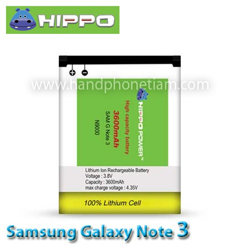 harga Baterai hippo samsung galaxy note 3   3600mah / battery original Tokopedia.com