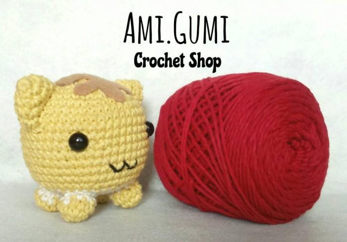 Amigurumi Boneka : Jual boneka rajut amigurumi kucing bulat ami gumi tokopedia