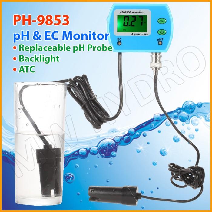harga Online ph & ec monitor / meter [ph-9853] Tokopedia.com