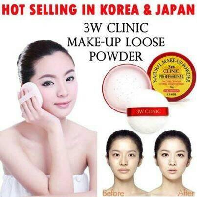 harga Palgantong 3w Clinic Professional Loose Powder Natural Make Up Tokopedia.com