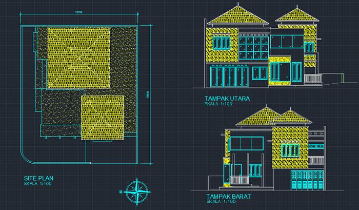 66+ Foto Desain Rumah File Skp HD Gratid Unduh Gratis