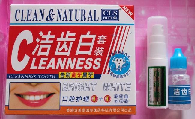 Jual Pemutih Gigi Terbaik Obat Pemutih Gigi Clean And Natural