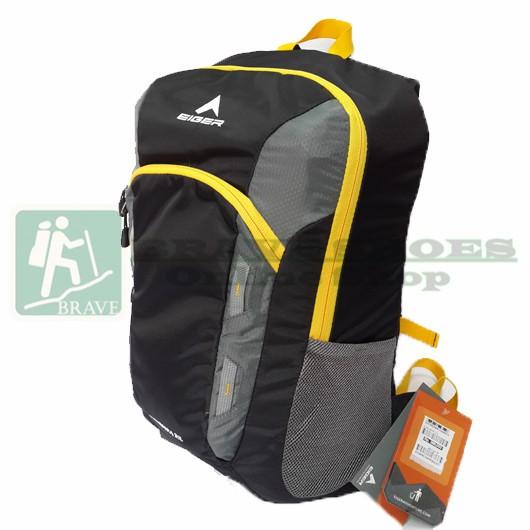Tas Ransel Daypack Sekolah Eiger 2379 R Kalimera 21L Black Yellow