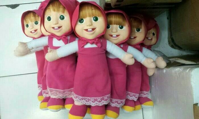 Foto Produk boneka marsha muka karet dari redberrymoet