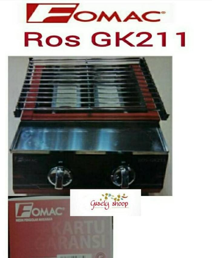 kompor panggang tanpa asap/Roaster sate BBQ Fomac Ros GK211
