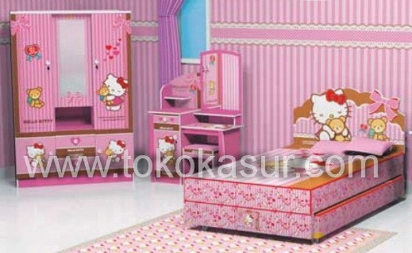 Jual Kamar Set Anak Hello Kitty Kab Tangerang Simpati Furniture Tokopedia