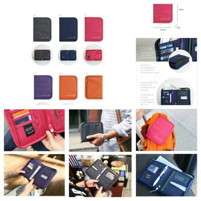 harga Lynx id card holder dompet paspor pasport wallet organizer pouch Tokopedia.com