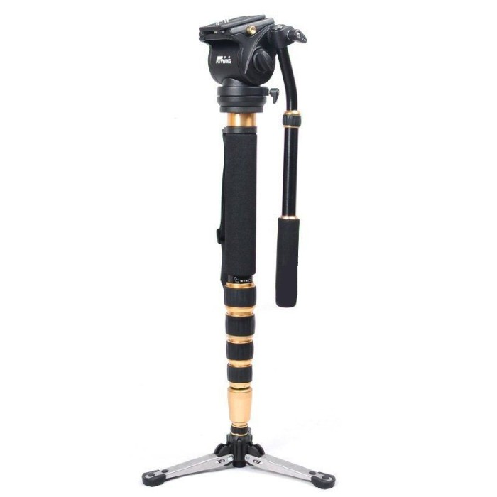 harga Monopod with fluid head jieyang 0506 -  bahan carbon fiber Tokopedia.com
