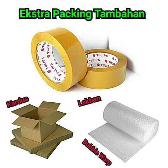 Foto Produk Packing Ekstra Aman ( Lakban + Bubble Warp + Kardus ) dari Fortuna Acc