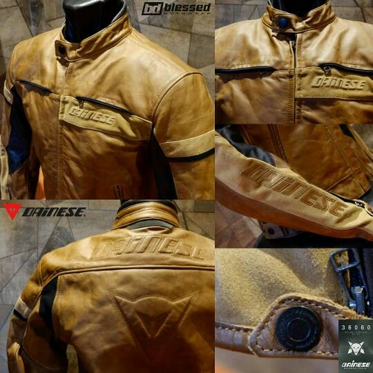 Dainese vintage leather jacket