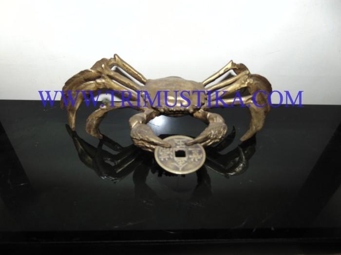 harga Patung kepiting kuningan fengshui Tokopedia.com
