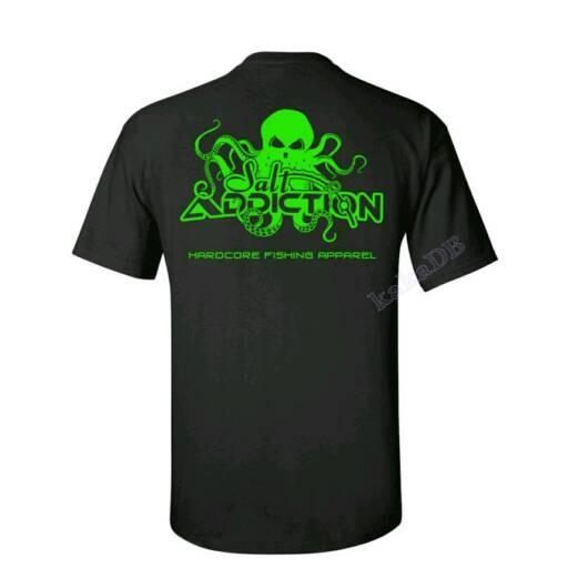 harga Kaos/t-shirt/baju mancing mania salt addiction hardcore Tokopedia.com