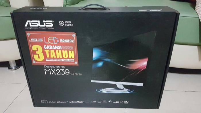Asus MX239 Drivers for PC