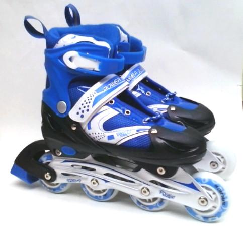 harga Sepatu roda anak inline skate power superb blue (size s) Tokopedia.com