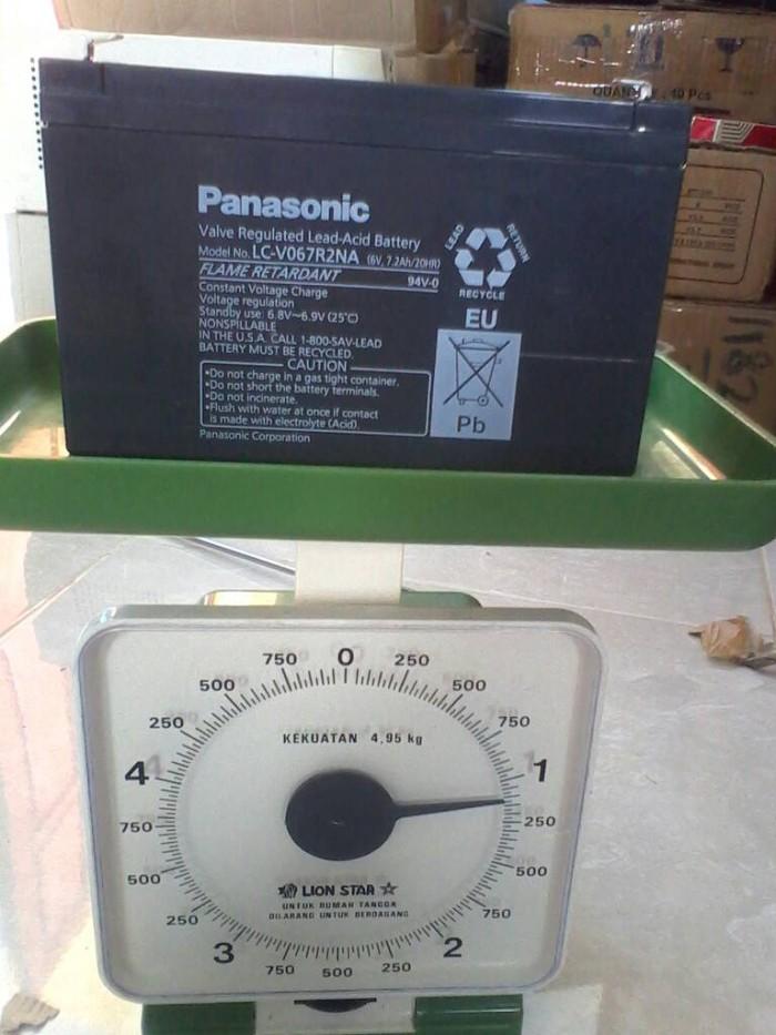 harga Aki accu baterai kering ups 6v 7ah Tokopedia.com