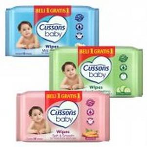 harga Tisu Basah - CUSSONS Baby Wipes BELI 1 GRATIS 1 - Buy 1 Get 1 Tokopedia.com