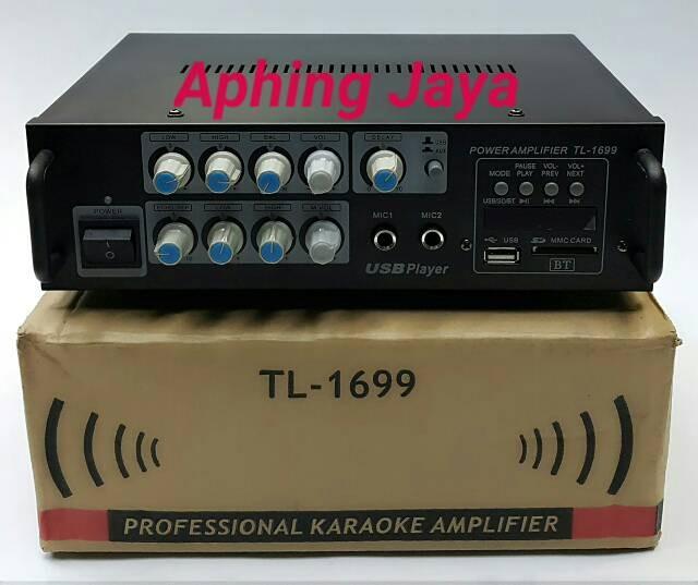 harga Digital professional karaoke amplifier mixer tl-1699 with bluetooth Tokopedia.com