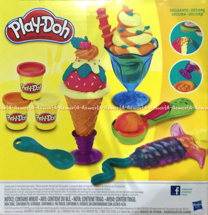 Fun Doh Ice Cream Bars Lilin Mainan. Source · Jual Play Doh Es Krim Treats Playdoh Membuat Lilin Mainan