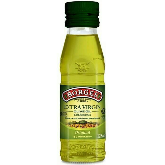 Foto Produk Minyak Zaitun BORGES Extra Virgin Olive Oil 125 ml - BORGES 125ml dari Lapak Barokah