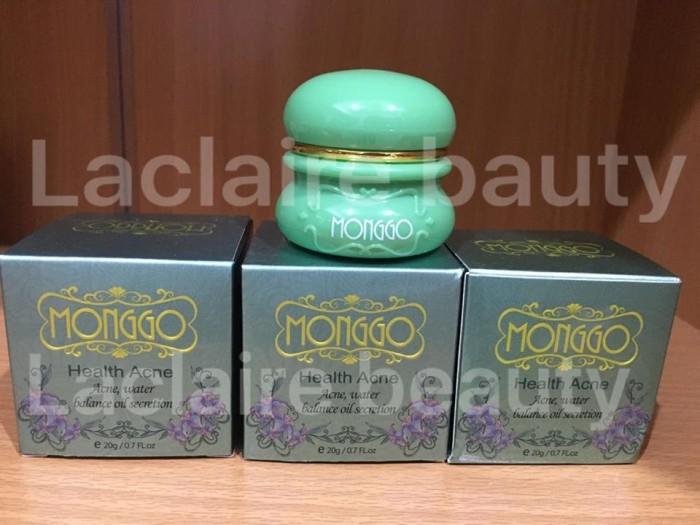 Jual MONGGO HEALTH ACNE CREAM / CREAM ANTI JERAWAT - Laclaire Beauty Shop | Tokopedia