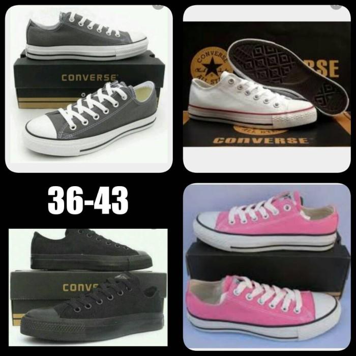 Jual grosir sepatu converse all star low grade ori  f7e455077e