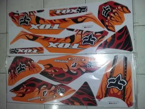 harga Striping variasi kawasaki klx150 bf fok Tokopedia.com