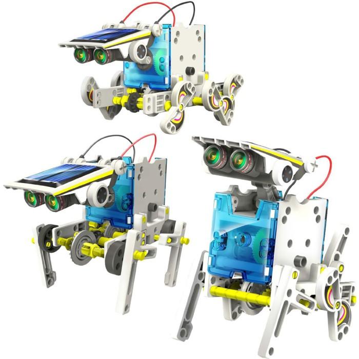 harga [diy toys] 14 in 1 transforming solar robot science Tokopedia.com