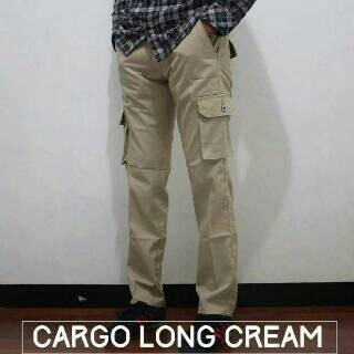 harga Celana cargo panjang cream / long cargo pants cream / vans Tokopedia.com