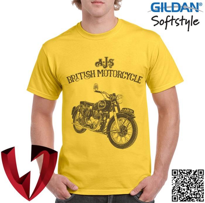 harga Kaos vintage bikers - motor klasik ajs 1 - original gildan Tokopedia.com