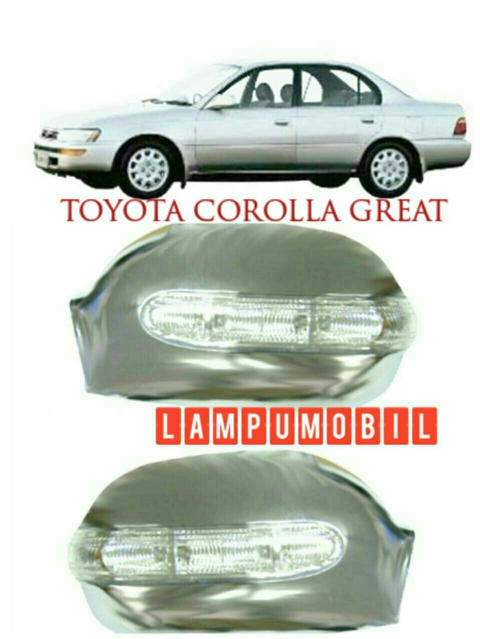 harga Cover spion toyota corolla great 1992-1996 with sign lamp (set) Tokopedia.com
